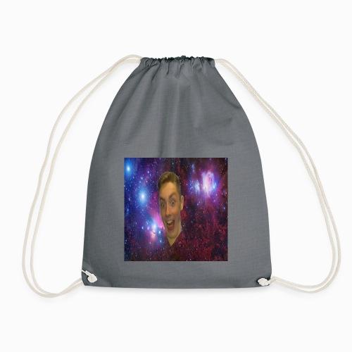 The face of a madman design - Drawstring Bag