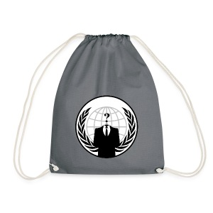 Anonymous Corporation - Drawstring Bag