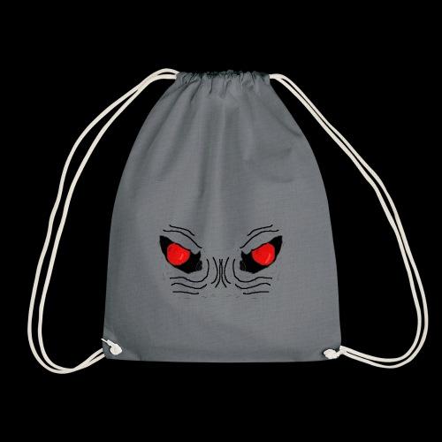 Demon Eyes Red - Drawstring Bag