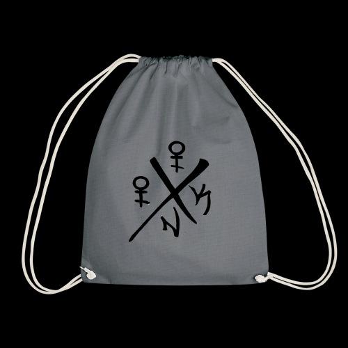 illusion Ink logo - Drawstring Bag