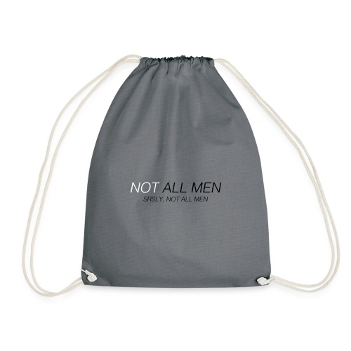 Not all men - Mochila saco