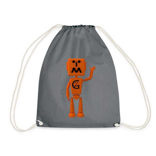 Myzbot Waving - Drawstring Bag