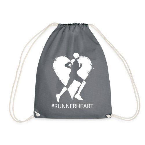 #Runnerheart man - Turnbeutel