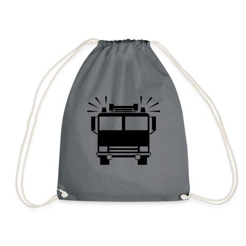 Feuerwehrautosymbol - Turnbeutel