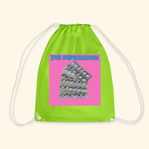 The Depresh. - Drawstring Bag
