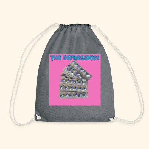 The Depresh. - Drawstring Bag