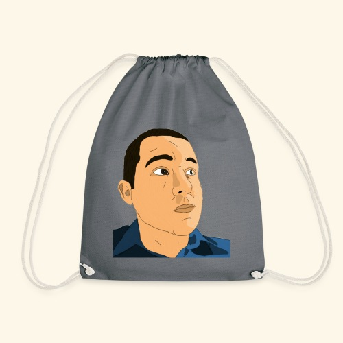 Gamer Barnes's Face - Drawstring Bag