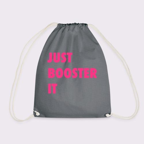 just boost it - Drawstring Bag