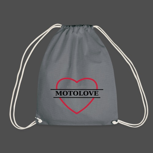 MOTO LOVE - Drawstring Bag