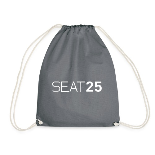 Seat25 Logo Light - Drawstring Bag
