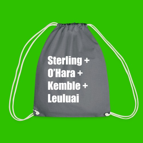 Hull Greats [1] - White - Drawstring Bag