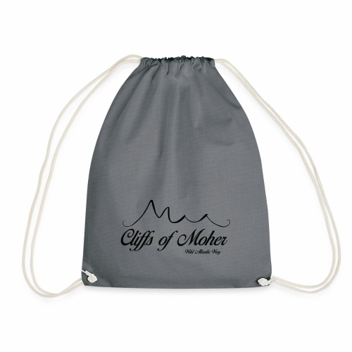 Apparel representing Ireland's stunning Wild Atlan - Drawstring Bag