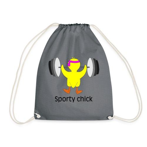 Sporty chick - Turnbeutel