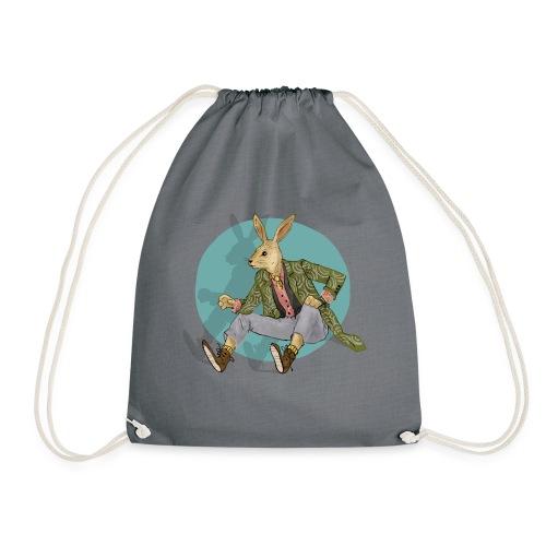 RABBIT girl - Drawstring Bag