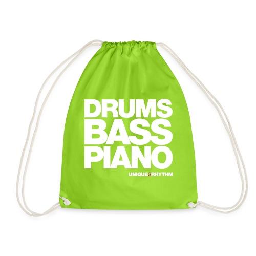 Drums Bass Piano - Drawstring Bag
