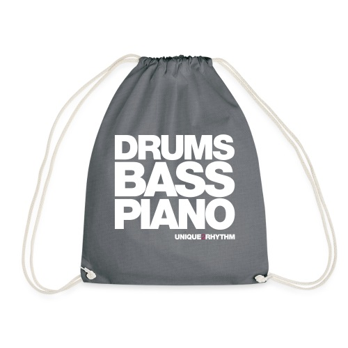 Drums Bass Piano - Drawstring Bag