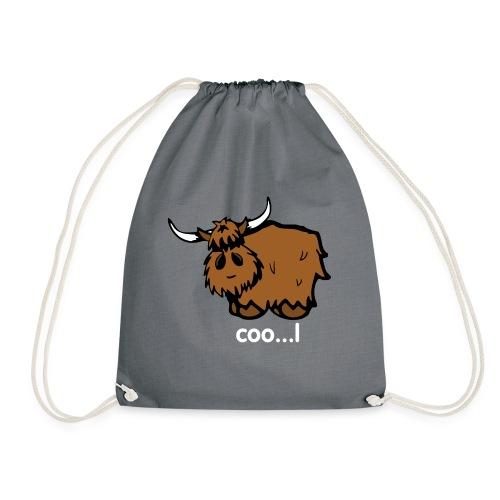 Cool Heilan Coo' - Drawstring Bag