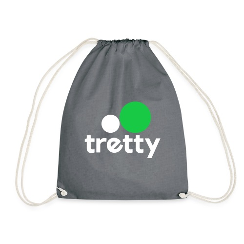 Tretty Logo ohne Subline - Turnbeutel