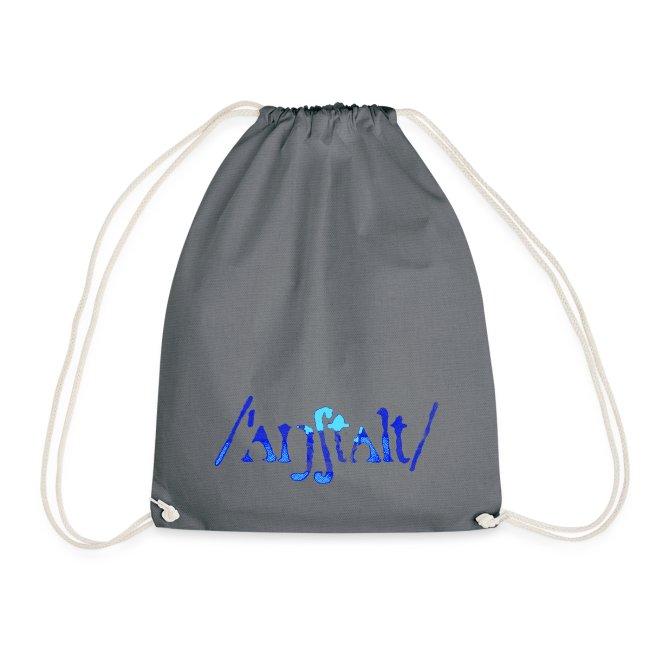 /'angstalt/ logo gerastert (blau/transparent)