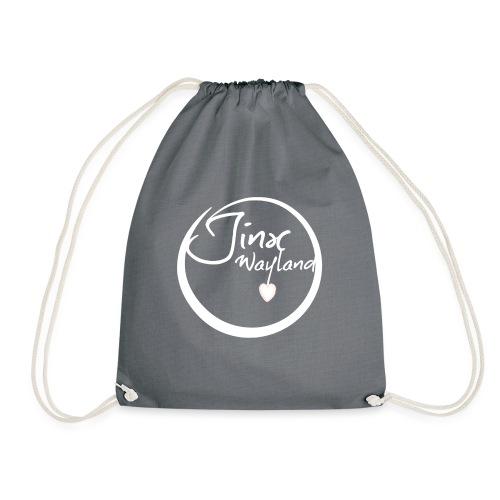 Jinx Wayland Circle White - Drawstring Bag