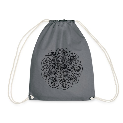 Beetle Mandala - Drawstring Bag