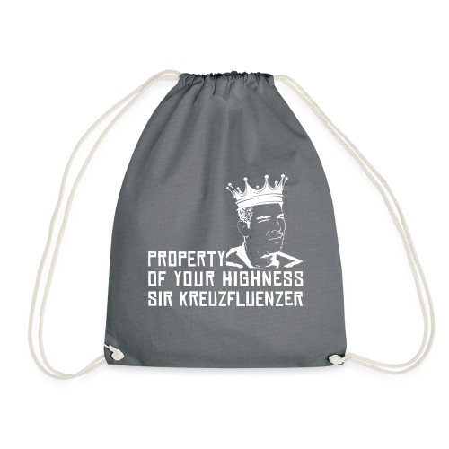 Property of your Highness WHITE - Turnbeutel