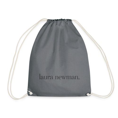 laura newman. Logo | dark - Turnbeutel