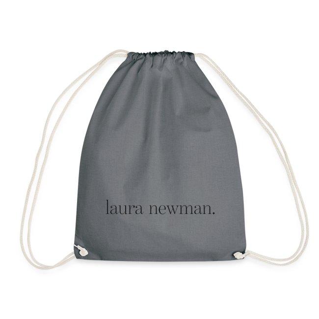 laura newman. Logo   dark