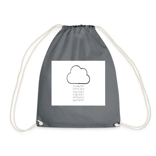 binary - Drawstring Bag