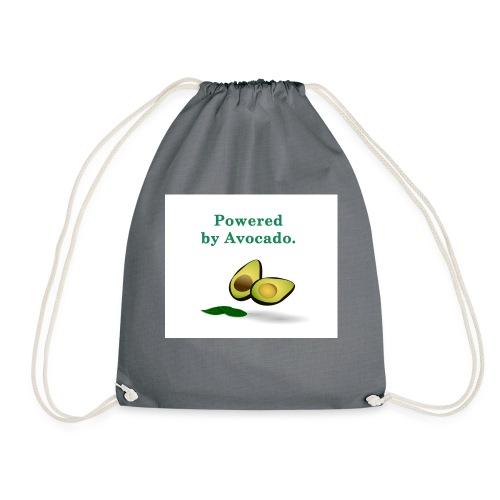 T-shirt ; Powered by avocado - Sac de sport léger