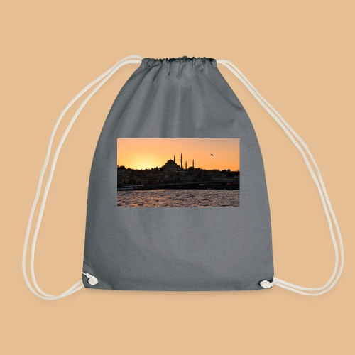 Istanbul_Sea_Urban_Sunset_Ultra_HD - Sac de sport léger