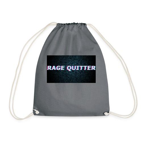 Rage Quitter Design 1 - Drawstring Bag
