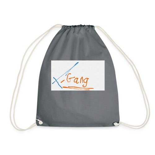 t-gang snapback cap - Drawstring Bag
