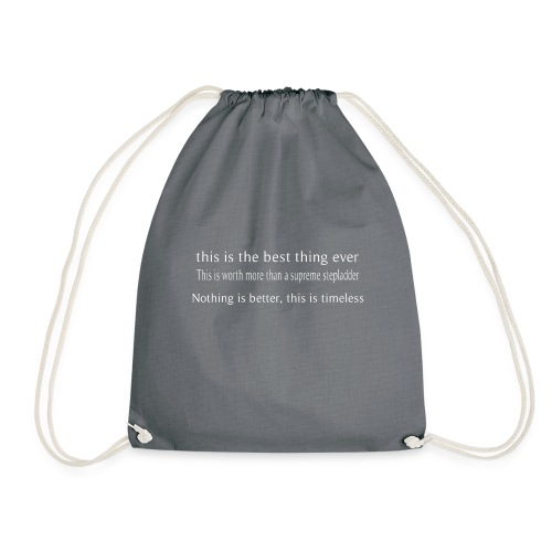 Timeless - Drawstring Bag