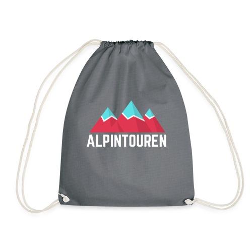 Alpintouren Logo - Turnbeutel