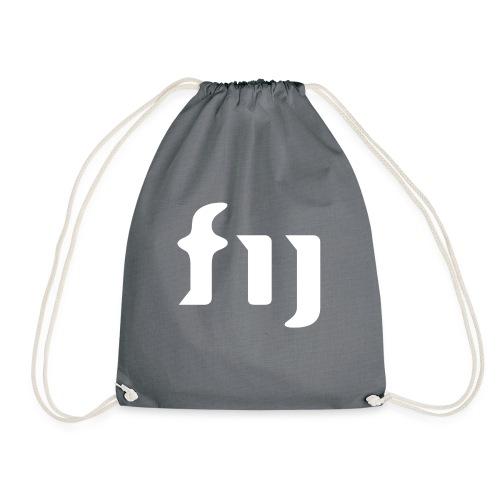 FIJ logo (vit) - Gymnastikpåse