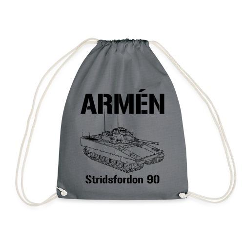 Armén Stridsfordon 9040 - Gymnastikpåse