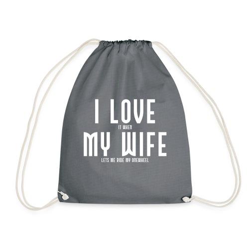 i love my wife - Sportstaske