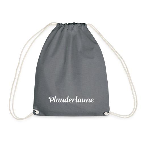 Plauderlaune White Edition - Turnbeutel