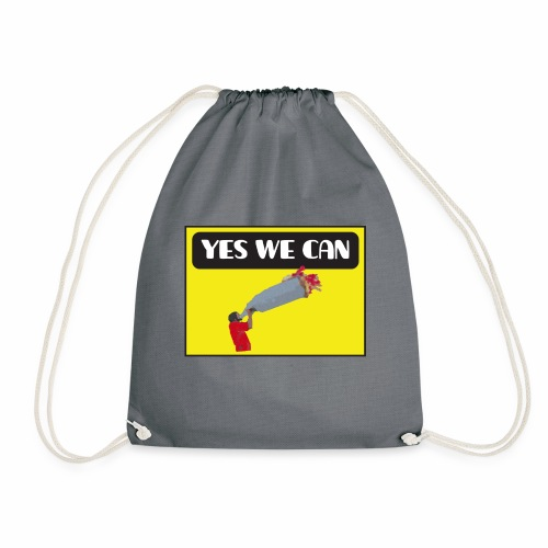 Yes, we can! / Equivoco - Sacca sportiva