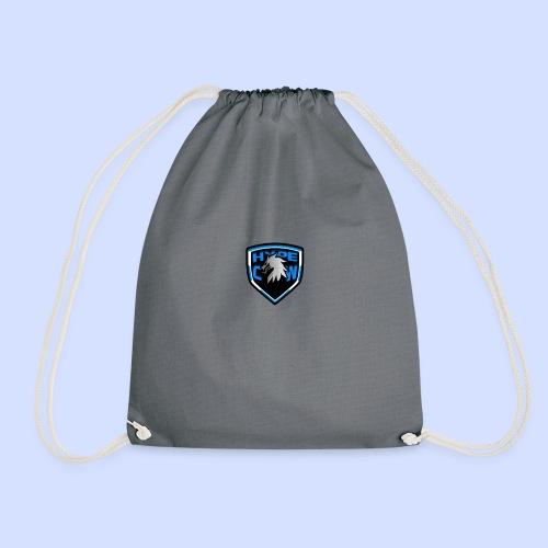 HypeCw logo (Silver) - Drawstring Bag