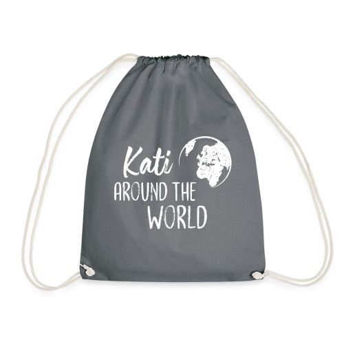 Kati around the world logo - Turnbeutel