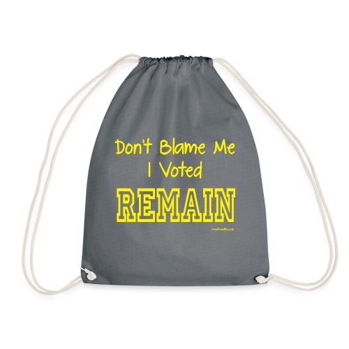Dont Blame Me - Drawstring Bag