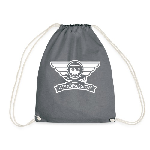 AEROPASSION logo blanc ps - Sac de sport léger