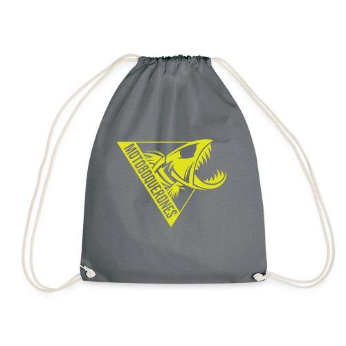 Logo Motoboquerones amarillo - Mochila saco