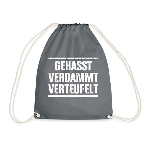 GEHASST VERDAMMT VERTEUFELT - Turnbeutel