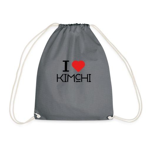 Korean Food Stories I LOVE KIMCHI - Turnbeutel