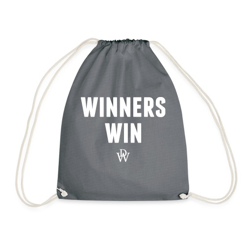 Winners win - Drawstring Bag