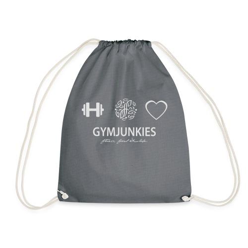 -Fitness, Food & Love- tasje - Gymtas