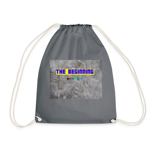 The Beginning - Drawstring Bag
